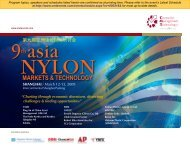 第九届亚洲锦纶国际研讨会 - CMT Conferences