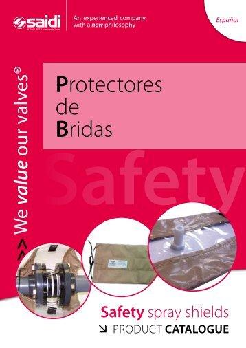 Protectores de bridas - SAIDI