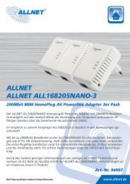 ALLNET ALLNET ALL168205NANO-3