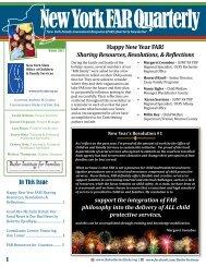 Winter 2013 Newsletter (PDF) - Butler Institute For Families