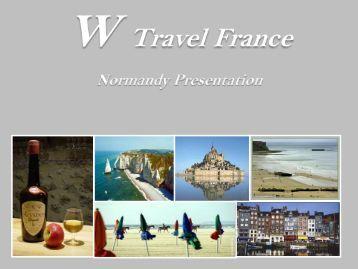 Normandy Presentation - w travel france