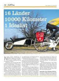 16 Länder 10000 Kilometer 1 Idealist - Flyer