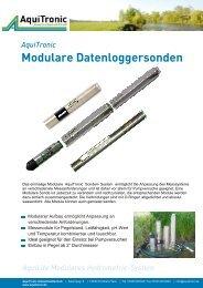Modulares System - Aquitronic