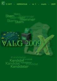 C-Nyt nr. 1 2009 - Konservative.dk