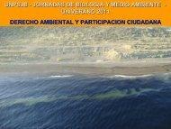 Derecho ambiental y participación ciudadana.