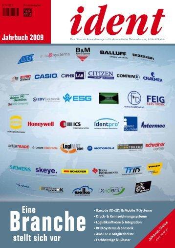 ident Jahrbuch / 2009