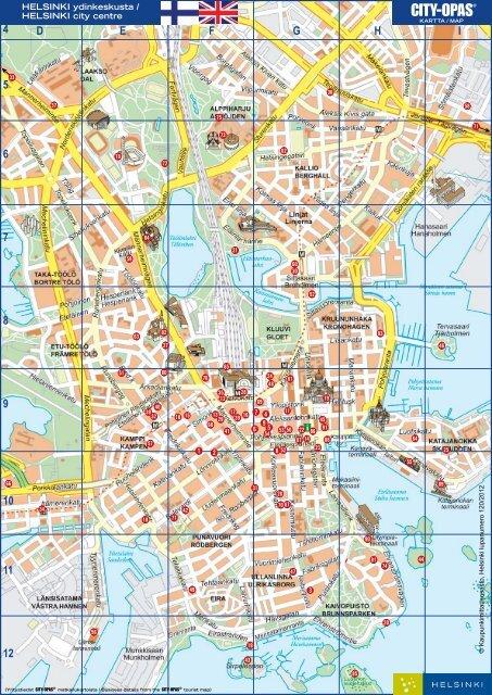 Tulostettava Kartta Helsinki