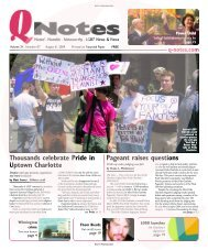 Thousands celebrate Pride in Uptown Charlotte Pageant ... - Q-Notes