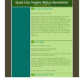 singles in the quad cities