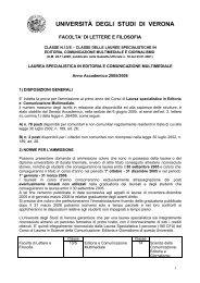 pdf (it, 138 KB, 7/12/05) - Università degli Studi di Verona