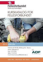 ADK Øst 2013 - Fellesforbundet