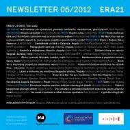 newsletter 05/2012 - Era21