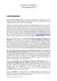 Vorbericht Auktion 66 - Emporium Hamburg