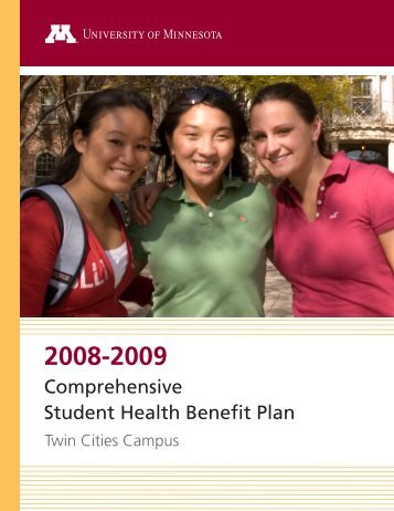 Comprehensive Student Health Benefit Plan - Office of Student ...