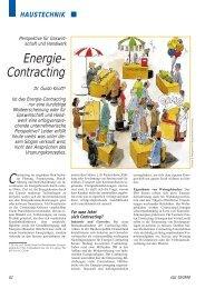 Energie- Contracting