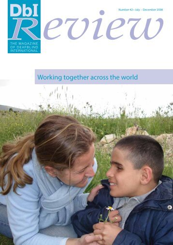 Working together across the world - Deafblind International
