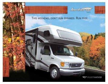 this weekend, don't run errands. run free. - RV Website Design and ...
