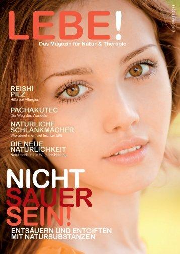 Lebe-Magazin 1 / 2012 - ms-training