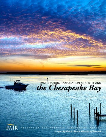 the Chesapeake Bay - Federation for American Immigration Reform