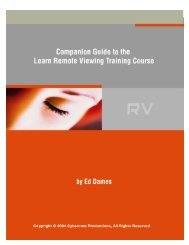 Companion Guide - Learn Remote Viewing