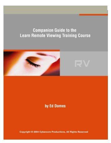 Companion Guide - Learn Remote Viewing