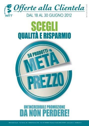 DA NON PERDERE! - Witt Italia