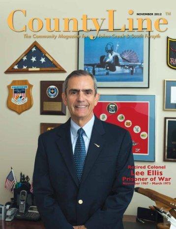 Retired Colonel Lee Ellis - County Line Magazine