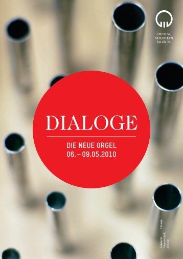 DIALOGE - Internationale Stiftung Mozarteum Salzburg