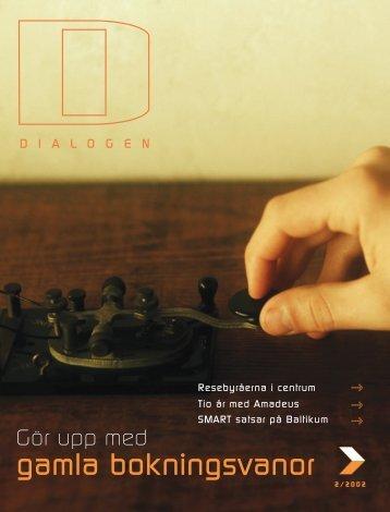 gamla bokningsvanor - Amadeus