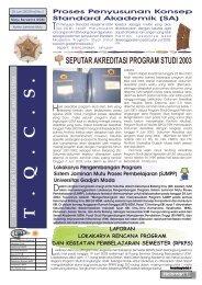 04.Edisi_Juni_2003 - Kantor Jaminan Mutu - Universitas Gadjah Mada