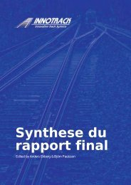 Synthese du rapport final - CHARMEC