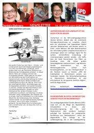 Newsletter 05-2009 - Daniela Behrens