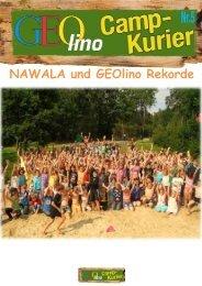 NAWALA- Das Abenteuer geht weiter…. - GEOlino Camp