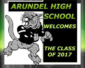 9th Grade Parent Orientation - Arundel High School