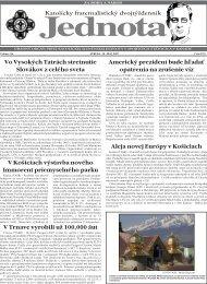 Vo Vysoky;ch Tatra;ch stretnutie Slova;kov z cele;ho sveta V Trnave ...