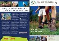 NRW-Magazin 01-2007 - NRW-Stiftung