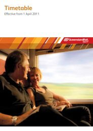 Timetable - Queensland Rail