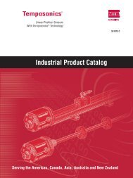 Industrial Product Catalog - MTS Sensors