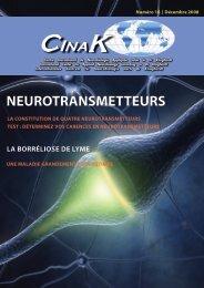 Journal du CINAK   Décembre 2008