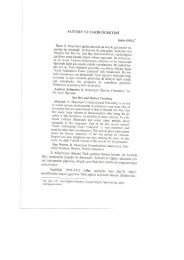 2. SATI BEY ve TARİH ÖĞRETİMİ - Türkiye Sosyal Araştırmalar Dergisi