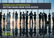 workplace optimisation - getting more from your estate - EC Harris