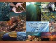 Through a Fish's Eye: The Status of Fish - NOAA Habitat Conservation