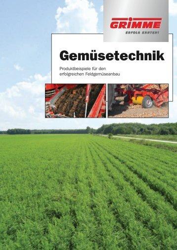 Gemüsetechnik - Grimme