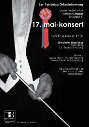 programhefte - Sør-Trøndelag Orkesterforening