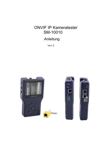 ONVIF IP Kameratester SM-10010