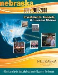 CDBG 2006-2010 - Nebraska Department of Economic Development