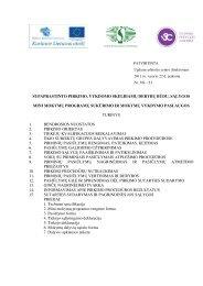 Pirkimo dokumentai - Ugdymo plėtotės centras