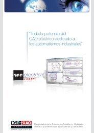 """""""Toda la potencia del CAD eléctrico dedicado a los ... - Ige-xao.com"""