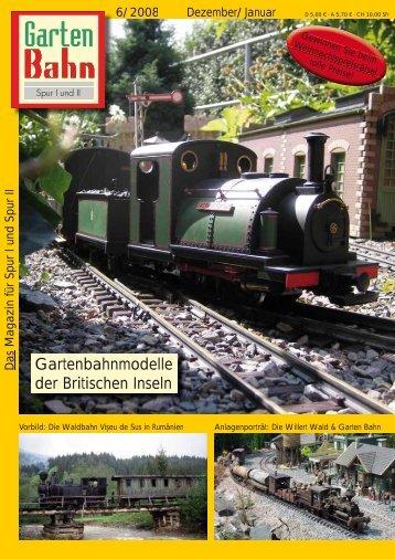 Gartenbahnmodelle der Britischen Inseln