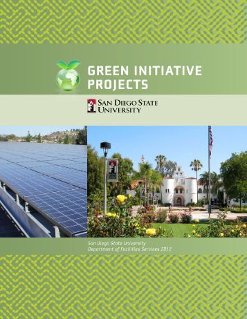 GREEN INITIATIVE PROJECTS - SDSU - San Diego State University